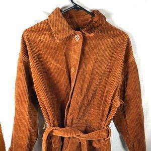 Monki Belted Corduroy Jacket M